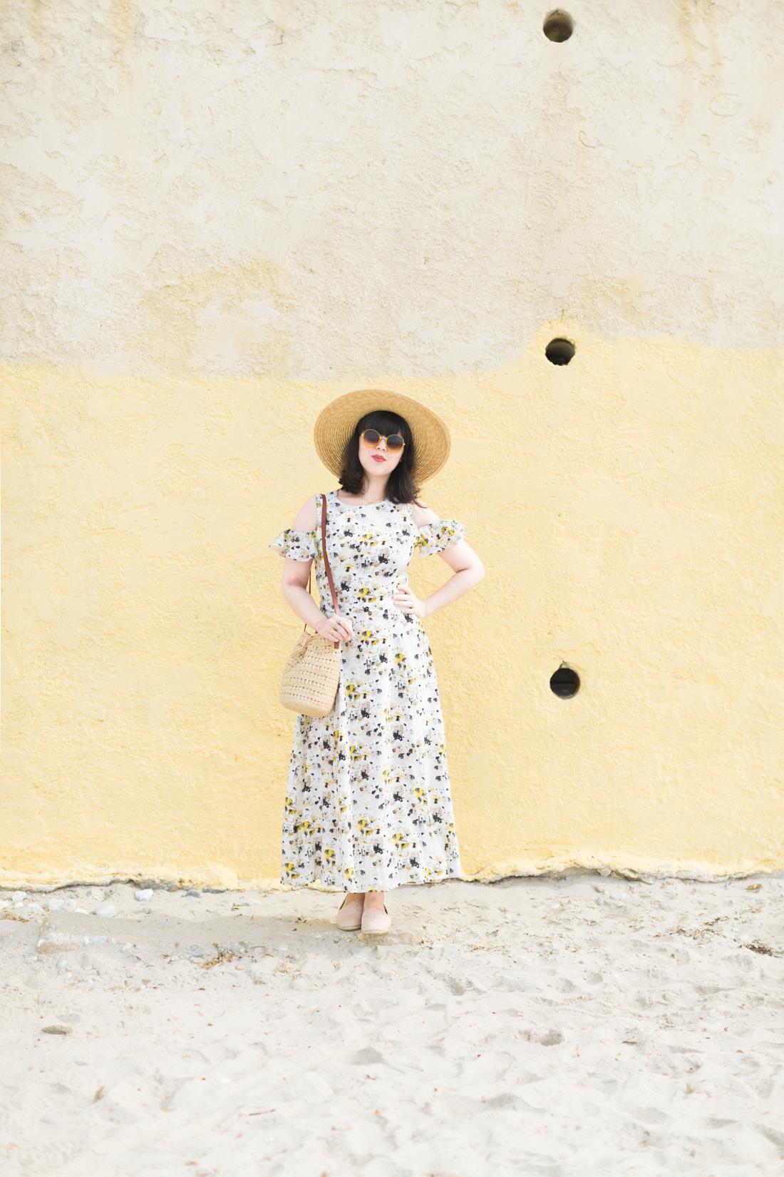 yellow_dress_flowers_kelly_love_youngbritishdesigners_copyright_Pauline_Privez_paulinefashionblog_com-2