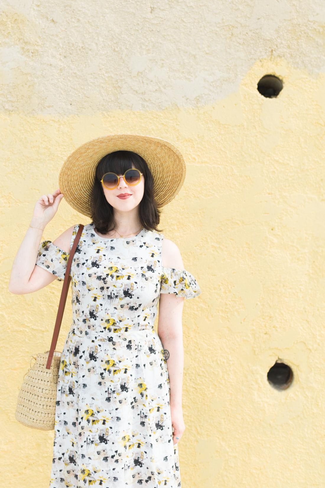 yellow_dress_flowers_kelly_love_youngbritishdesigners_copyright_Pauline_Privez_paulinefashionblog_com-5