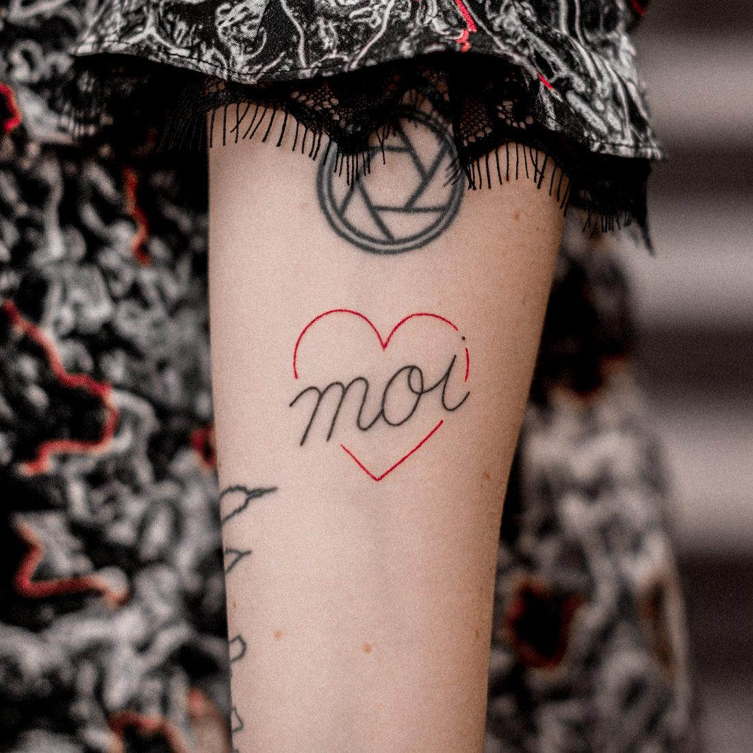 un tatouage fait pour MOI