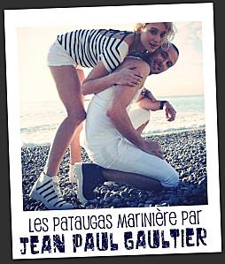 La marini re de jean paul gaultier version pataugas pauline - Jean paul gaultier mariniere ...
